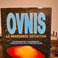 Libros de segunda mano: FANTASTICO LIBRO: OVNIS, LA RESPUESTA DEFINITIVA ( POR JOHN SPENCER) EXTRATERRESTRES, AVISTAMIENTOS,. Lote 278197698