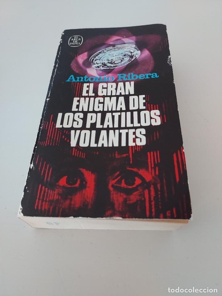 Libros de segunda mano: EL GRAN ENIGMA DE LOS PLATILLOS VOLANTES Antonio Ribera 5a edicion 1980 OVNIS UFOLOGIA - Foto 5 - 278566253