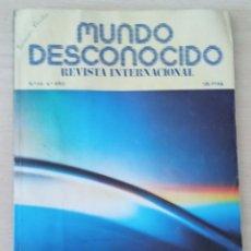Libros de segunda mano: MUNDO DESCONOCIDO Nº 44 1980. Lote 278932263