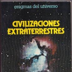Libros de segunda mano: CIVILIZACIONES EXTRATERRESTRES - FRANÇOIS BIRAUD, JEAN CLAUDE RIBES - DAIMON 1976. Lote 280794678