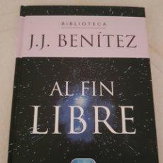 Livres d'occasion: AL FIN LIBRE JJ BENÍTEZ. Lote 283171863