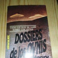 Libros de segunda mano: DOSSIERS DE LOS OVNIS - HENRY DURRANT. Lote 284046243