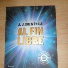 Libros de segunda mano: AL FIN LIBRE CUADERNOS CASI SECRETOS - J. J. BENITEZ - DISPONGO DE MAS LIBROS. Lote 285043978