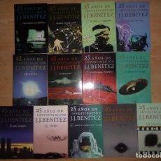 Libros de segunda mano: 25 AÑOS DE INVESTIGACION - J. J. BENITEZ - 13 LIBROS / COLECCION COMPLETA - DISPONGO DE MAS LIBROS. Lote 285045178