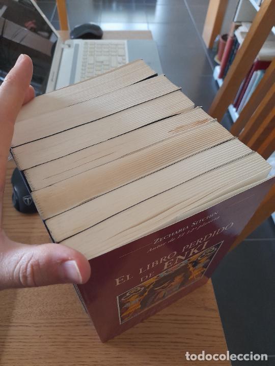 Libros de segunda mano: Lotazo de libros de Zecharia Sitchin, Obelisco. Muy buen estado. - Foto 2 - 286828818