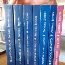 Libros de segunda mano: LOTAZO DE LIBROS DE ZECHARIA SITCHIN, OBELISCO. MUY BUEN ESTADO.. Lote 286828818