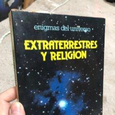 Libros de segunda mano: ENIGMAS DEL UNIVERSO: EXTRATERRESTRES Y RELIGIÓN - DAIMON. Lote 286842323