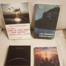 Libros de segunda mano: LOTE DE 4 ÚNICOS Y ORIGINALES LIBROS SOBRE UFOLOGÍA - ESPECIAL COLECCIONISTAS-OVNIS- EXTRATERRESTRES. Lote 287802848
