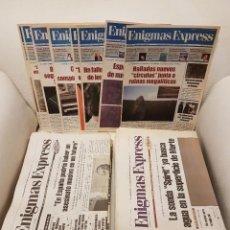 Libros de segunda mano: ENIGMAS EXPRESS - COLECCIÓN COMPLETA EN SUS 56 NÚMEROS - JIMÉNEZ DEL OSO - IKER JIMÉNEZ - UFOLOGÍA. Lote 287803033