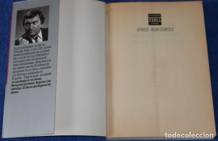 Libros de segunda mano: ¿En qué me he equivocado? - Otros Horizontes - Erich Von Dániken - Plaza & Janés Editores (1986) - Foto 2 - 288358208