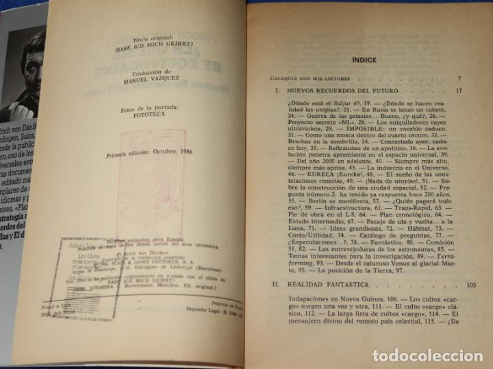 Libros de segunda mano: ¿En qué me he equivocado? - Otros Horizontes - Erich Von Dániken - Plaza & Janés Editores (1986) - Foto 4 - 288358208