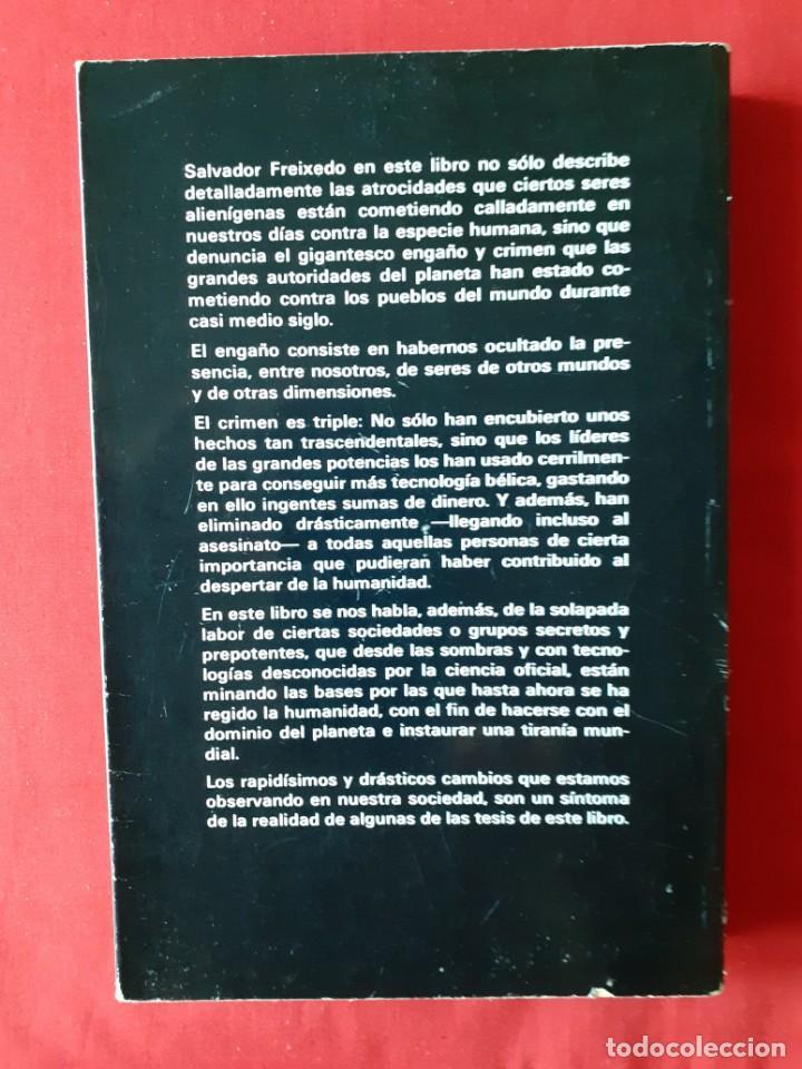 Libros de segunda mano: LA AMENAZA EXTRATERRESTRE. ¿QUIEN MUEVE LOS DESTINOS DE LA RAZA HUMANA? SALVADOR FREIXEDO - Foto 2 - 288372913
