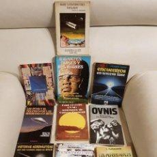 Libros de segunda mano: LOTE DE 10 ÚNICOS Y DIFÍCILES LIBROS SOBRE UFOLOGÍA - ESPECIAL COLECCIONISTAS-OVNIS- EXTRATERRESTRES. Lote 291935628