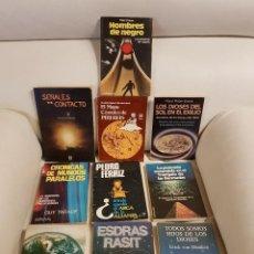 Libros de segunda mano: LOTE DE 10 ÚNICOS Y DIFÍCILES LIBROS SOBRE UFOLOGÍA - ESPECIAL COLECCIONISTAS -OVNIS-EXTRATERRESTRES. Lote 292093058