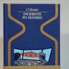 Libros de segunda mano: INCIDENTE EN MANISES. J. J. BENITEZ. EDITORIAL PLAZA&JANES. 1980 PRIMERA EDICION. Lote 293869338