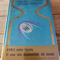 Libros de segunda mano: ANTONIO RIBERA Y R. FARRIOLS : UN CASO PERFECTO (OTROS MUNDOS PLAZA, 1976). Lote 295016983