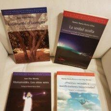 Libros de segunda mano: LOS 4 ÚNICOS LIBROS QUE EL INSTITUTO DE INVESTIGACIÓN Y ESTUDIOS EXOBIOLÓGICOS PUBLICÓ - OVNIS. Lote 295358713
