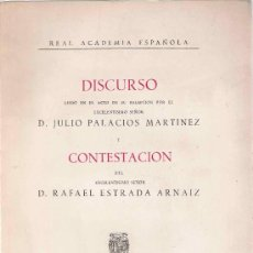 Libros de segunda mano: EL LENGUAJE DE LA FÍSICA Y SU PECULIAR FILOSOFÍA / JULIO PALACIOS MARTÍNEZ * ZARAGOZA *. Lote 26760049