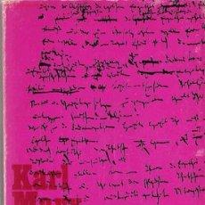 Libros de segunda mano: MANUSCRITOS : ECONOMÍA Y FILOSOFÍA / KARL MARX. Lote 22032570