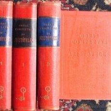 Libros de segunda mano: OBRAS COMPLETAS DE ARISTOTELES ( 4 TOMOS). 1947. Lote 27092833