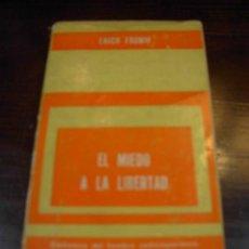 Libros de segunda mano: EL MIEDO A LA LIBERTAD, ERIC FROMM, BIBLIOTECA DEL HOMBRE CONTEMPORANEO, VOL. 7, PAIDOS, 1971. Lote 17115369