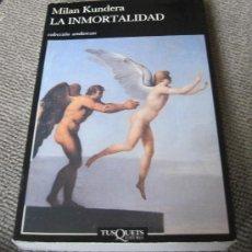 Libros de segunda mano: LA INMORTALIDAD. Lote 27444000