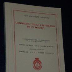 Libros de segunda mano: LEOVIGILDO. UNIDAD Y DIVERSIDAD DE UN REINADO.. Lote 21366443