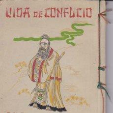 Libros de segunda mano: ESCENAS DE LA VIDA DE CONFUCIO. Lote 18992218