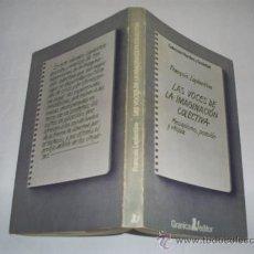 Libros de segunda mano: LAS VOCES DE LA IMAGINACIÓN COLECTIVA MESIANISMO POSESIÓN Y UTOPÍA FRANÇOIS LAPLANTINE RM46713. Lote 21426160