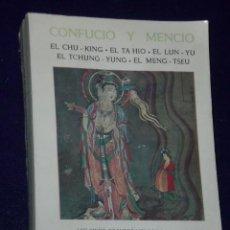 Libros de segunda mano: LOS LIBROS CANÓNICOS CHINOS.. Lote 24441216