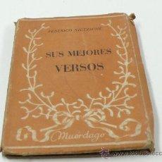 Libros de segunda mano: NIETZSCHE, SUS MEJORES VERSOS. ED. TARTESSOS. Lote 22508662