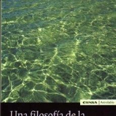 Libros de segunda mano: BERNARD N. SCHUMACHER. UNA FILOSOFÍA DE LA ESPERANZA: JOSEF PIEPER. PAMPLONA. 2005. FILOSOFÍA. Lote 77096731