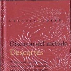 Libros de segunda mano: DISCURSO DEL METODO DE DESCARTES - EDICIONES FOLIO (PRECINTADO). Lote 25827993