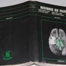 Libros de segunda mano: HISTORIA DA FILOSOFÍA.RAMÓN REGUEIRA VARELA, RAMÓN LÓPEZ VÁZQUEZ, MANOEL RIVAS GARCÍA, RAM RM33292. Lote 28739188