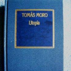 Libros de segunda mano: UTOPIA. THOMAS MORE. INTRODUCCION, BIBLIOGRAFIA, NOTAS, TRADUCCION: JOAQUIN MALLAFRE. 1985. NUEVO.. Lote 28790009