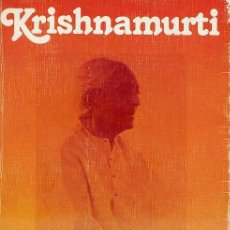 Libros de segunda mano: KRISHNAMURTI : DIARIO (1978). Lote 28959358