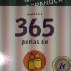 Libros de segunda mano: 365 PERLAS DE LA SABIDURÍA (BARCELONA 2007) PENSAMIENTOS Y REFLEXIONES QUE TE INSPIRARÁN.. Lote 29697965