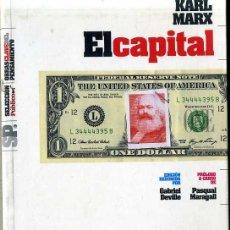 Libros de segunda mano: KARL MARX : EL CAPITAL (2008). Lote 30561565