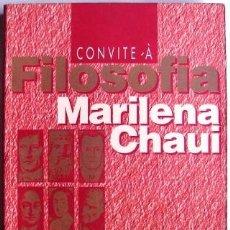 Libros de segunda mano: CONVITE À FILOSOFIA - CHAUI, MARILENA. EN PORTUGUES. Lote 32612375