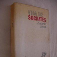 Libros de segunda mano: VIDA DE SOCRATES - ANTONIO TOVAR (CG1). Lote 58332489