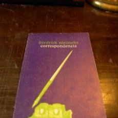 Libros de segunda mano: FRIEDRICH NIETZSCHE, CORRESPONDENCIA. Lote 33544694