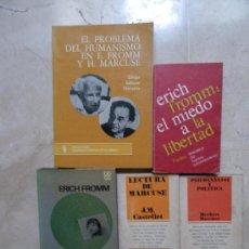 Libros de segunda mano: FROMM Y MARCUSE EC CASTELLANO Y EN CATALÁN. . Lote 34659498