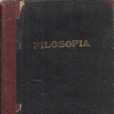 Libros de segunda mano: ELEMENTOS DE FILOSOFÍA ARISTOTELICO-ESCOLÁSTICA ( ALMA MATER ) 1942. Lote 34715911