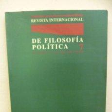 Libros de segunda mano: DE FILOSOFÍA POLÍTICA 7, 1993, 229 PAG.. Lote 35239447