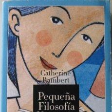 Libros de segunda mano: CATHERINE RAINBERT - PEQUEÑA FILOSOFIA NOCTURNA 365 PENSAMIENTOS PARA SER FELIZ USAR COMO UN DIARIO. Lote 127853619