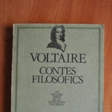 Libros de segunda mano: VOLTAIRE - CONTES FILOSOFICS. Lote 36186819
