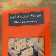 Libros de segunda mano - EL LABERINTO SENTIMENTAL DE JOSÉ ANTONIO MARINA (ANAGRAMA) - 76786443