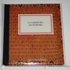 Libros de segunda mano: LA SABIDURÍA DE MAHOMA, COLECCIÓN AGUAMARINA;. Lote 36454576