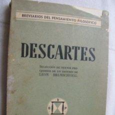 Libros de segunda mano: DESCARTES. 1939. Lote 37391087