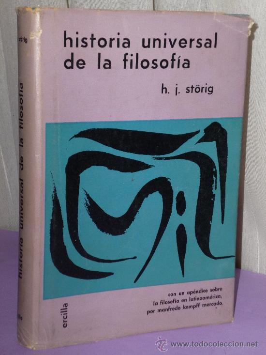 HISTORIA UNIVERSAL DE LA FILOSOFÍA. (Libros de Segunda Mano - Pensamiento - Filosofía)